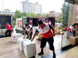 聊城高唐:老城区内涝后,24万余元救灾物资已送到群众手中