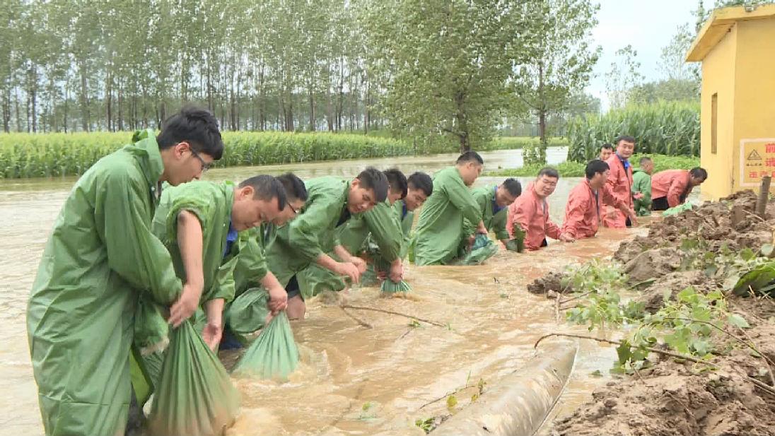 45秒丨枣庄台儿庄37个村庄受淹 群众积极开展生产自救