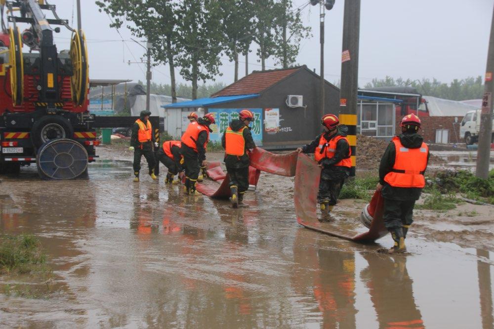 山东省消防救援总队出动指战员1070人次 疏散救助群众约3.8万余人