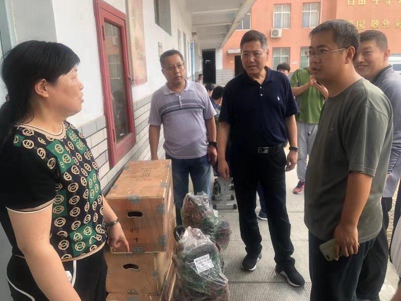 淄博市民政局、市慈善总将15台污水泵紧急送往灾区