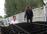 """搭乘电商""""快车""""迎来新商机 临朐这个乡镇生产的护栏远销全国"""