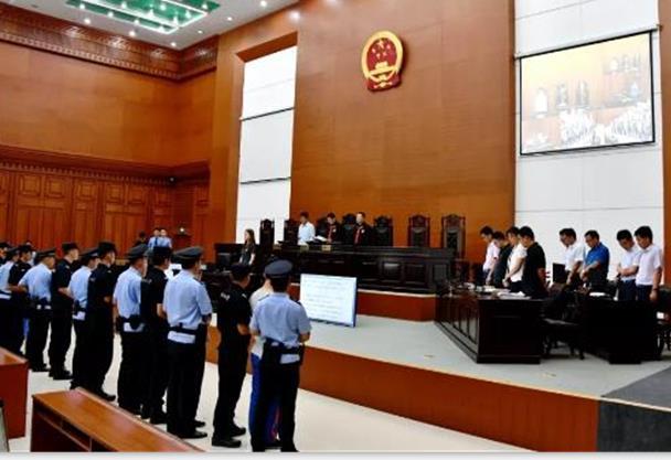 东营区法院公开宣判张龙龙等11人恶势力犯罪案