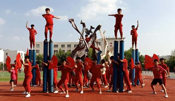 山东代表团积极备战第十一届全国少数民族传统体育运动会
