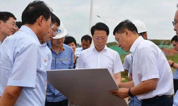 淄博市委书记江敦涛:让淄博的天更蓝水更清地更绿气更爽