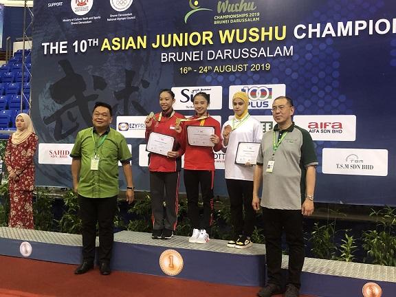 亚洲青少年武术锦标赛文莱落幕 山东健儿取得三金一银