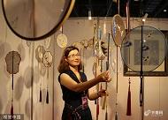 组图|中国民间工艺品博览会在烟台开幕 记忆中的民间工艺全在这