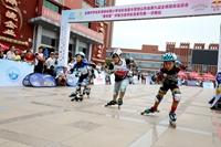 全国中学生轮滑锦标赛小学生轮滑夏令营泉城火热开幕