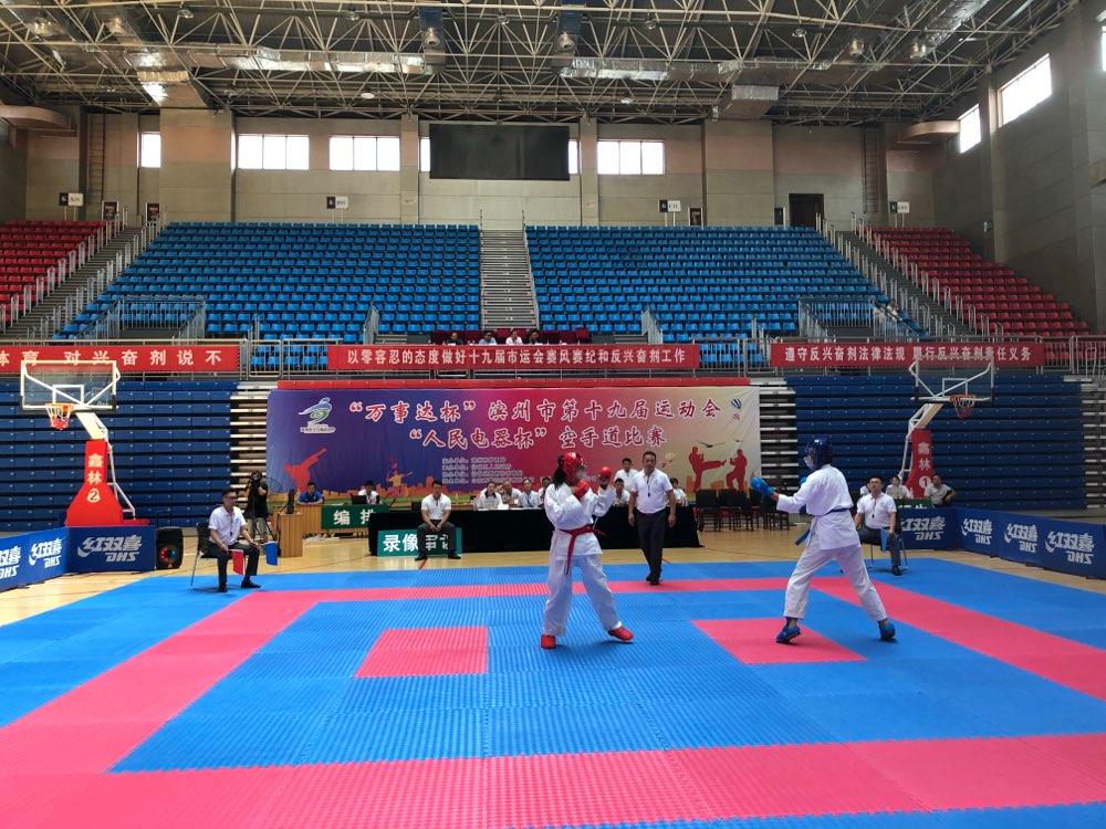 滨州市第19届运动会激战正酣,1480枚金牌陆续产生