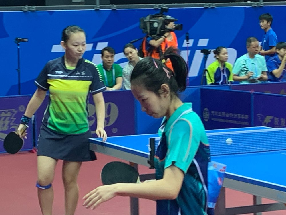 cctv风云足球频道-聚焦残运会:无声世界中的山东乒乓女英雄