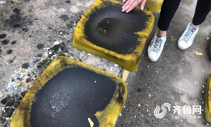 曲阜体育公园座椅.JPG