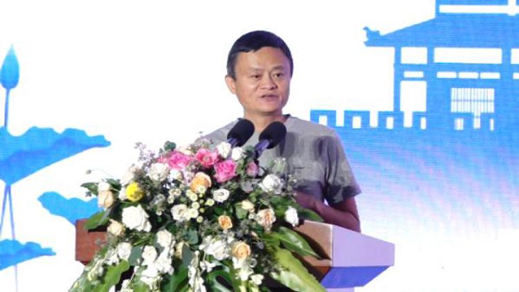 """74秒丨马云谈淘宝村""""三多"""" 年轻人回流就是农村的希望"""