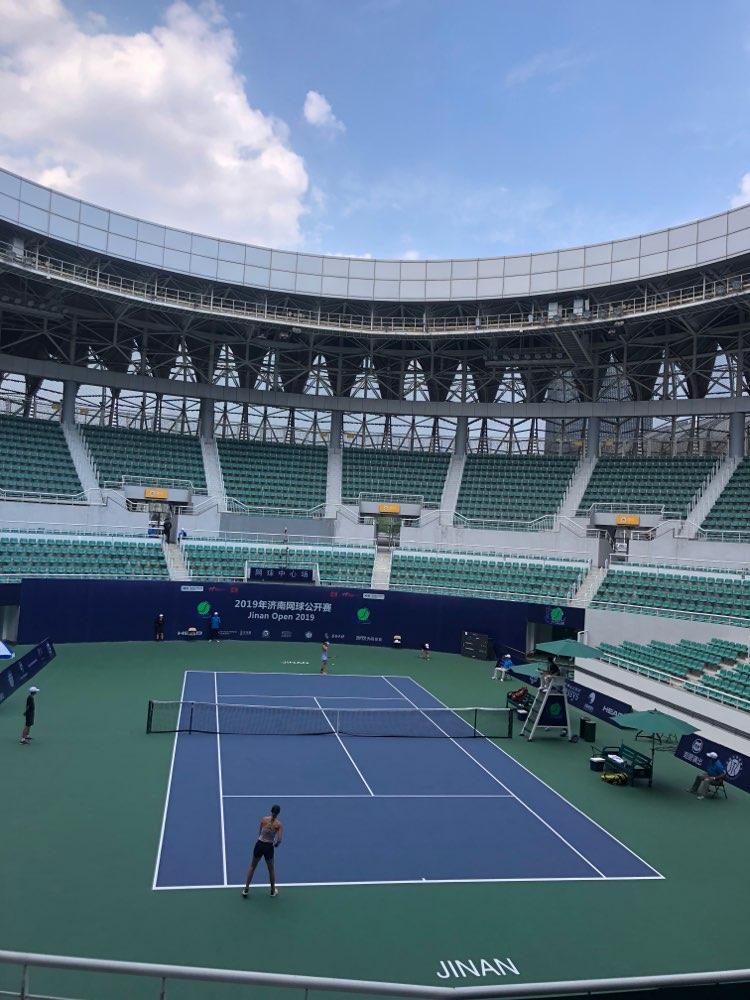 2019济南网球公开赛女单半决赛进行 澳大利亚选手麦克菲闯入决赛