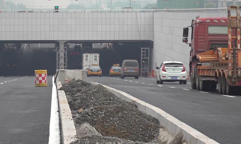 """72秒丨潍坊这处地下快速车道启用啦!""""新版通行规则""""即将上线"""