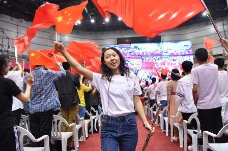 燃爆!山大5808名新生开学典礼齐唱《我和我的祖国》