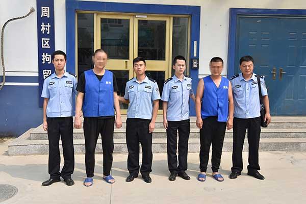 淄博:遇查车锁门逃跑 两男子被行政拘留10日罚款500元