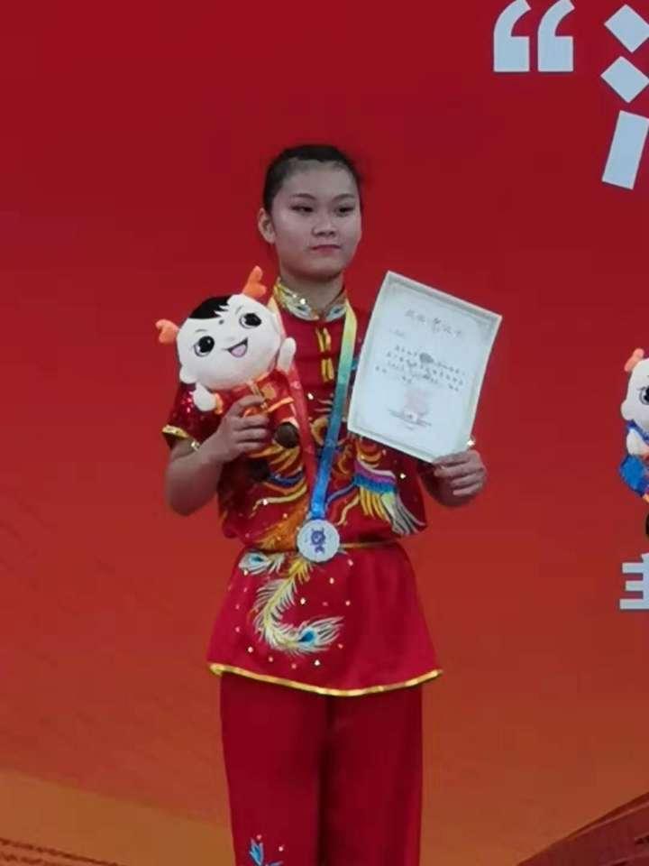 十一届全国民族运动会开赛 山东队员获得女子传统四类拳二等奖
