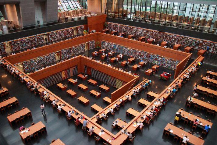 数字化!5G时代随时随地畅享国家图书馆