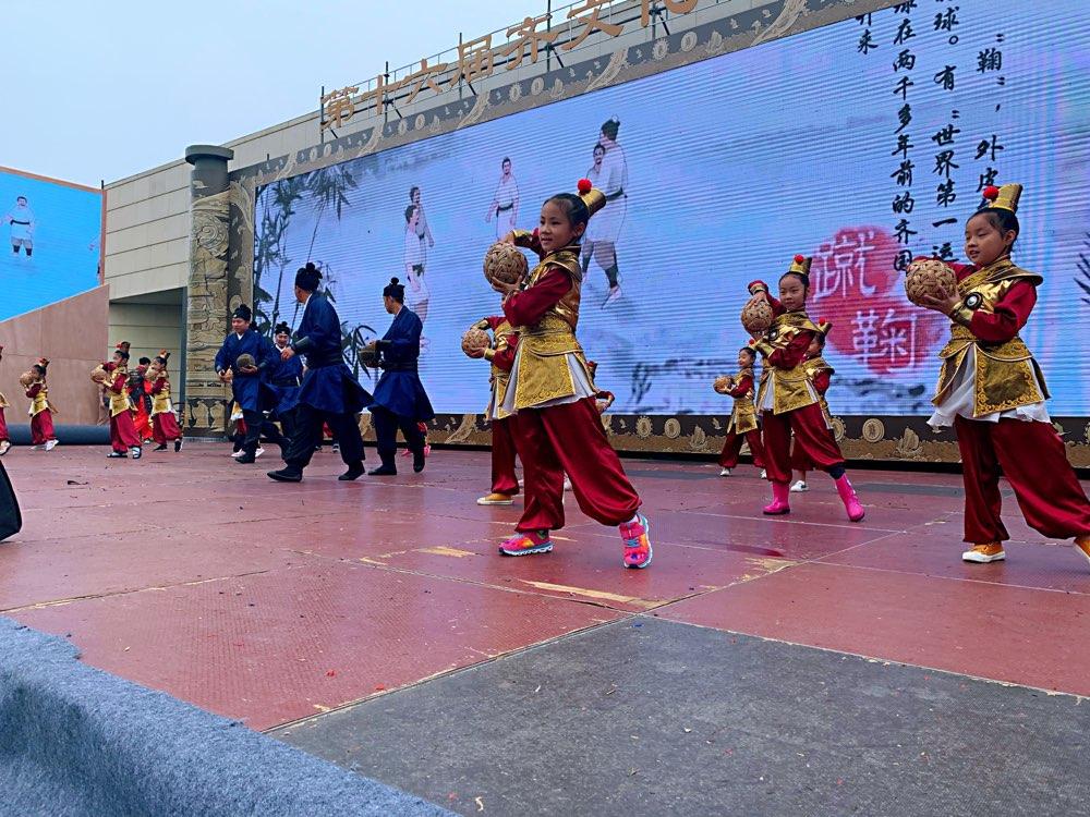记者探营第十六届齐文化节 融合历史元素再现文化盛世