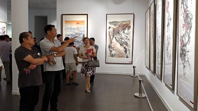 50秒丨水墨丹青描绘新中国 潍坊将组织优秀书画名家赴美国举办艺术展