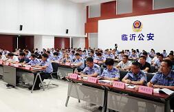 1864名警力巡更街面!临沂中心城区启动合成化巡防联控