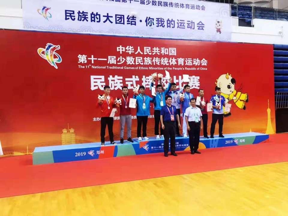 聚焦全国民族运动会 山东代表团再掀获奖高潮