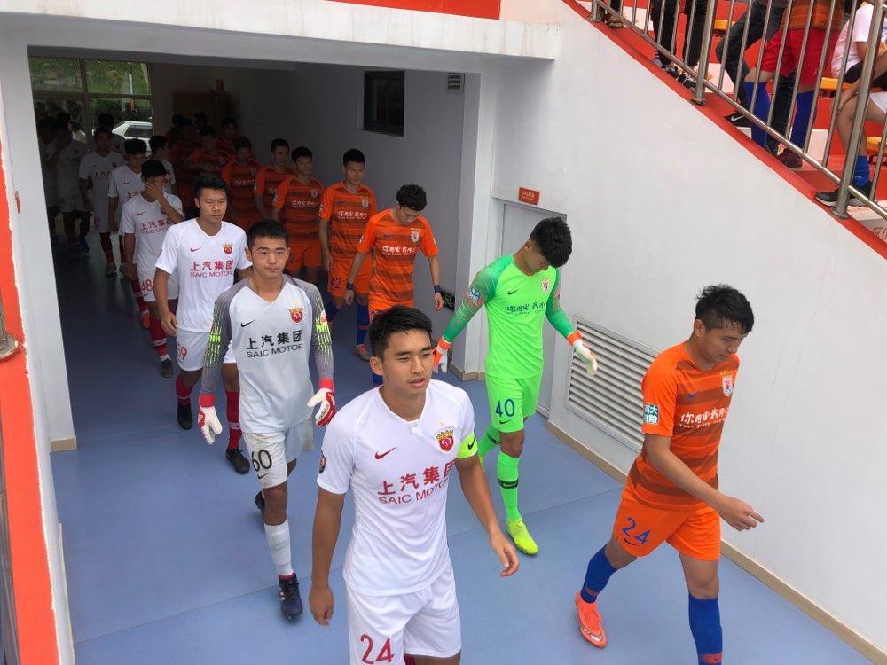 鲁能预备队4-1上港 戴琳德尔加多首发出场