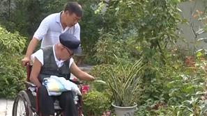 """""""人民楷模""""朱彦夫:做人当自强 挑战极限人生"""