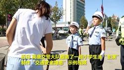 49秒丨小学生当主演做示范 这十大儿童交通安全隐患请注意