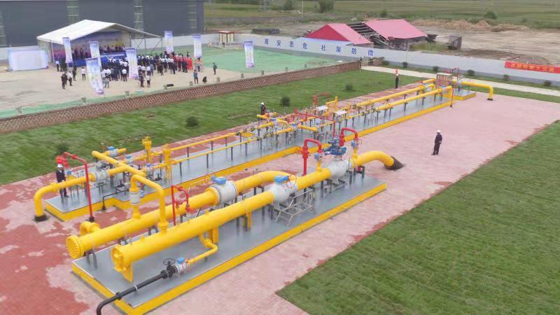 """年输气能力18亿立方米!""""济-聊""""高压天然气管道工程全线贯通"""