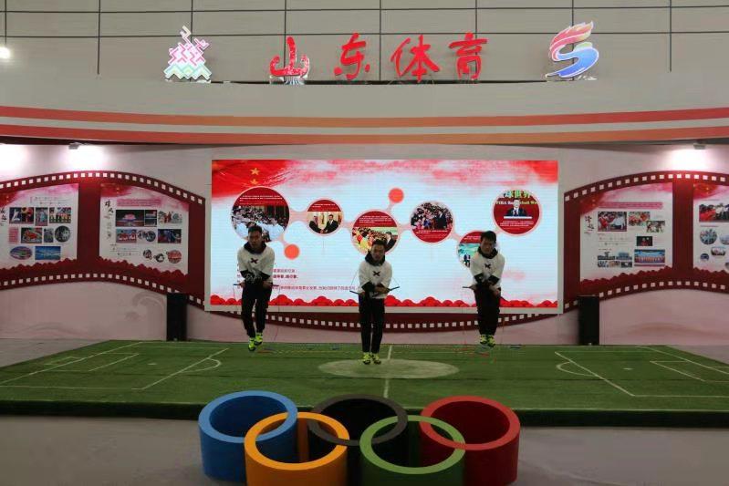 文博会盛大开幕 山东体育展厅精彩亮相
