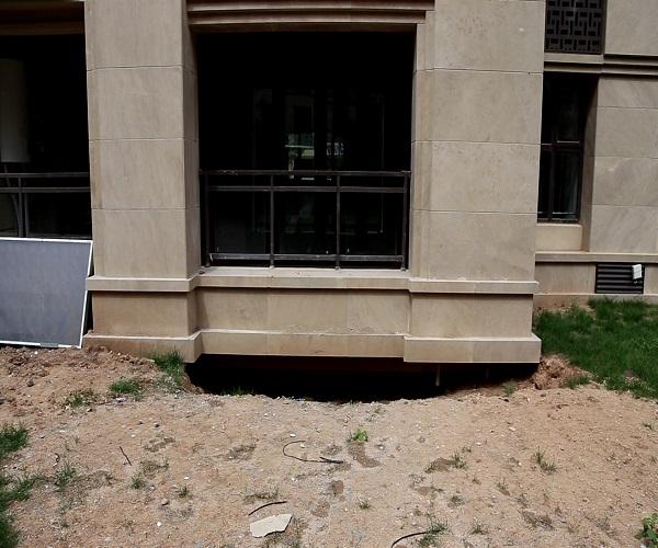 济南鲁能领秀城麓府回填土大面积沉降、地下车库渗漏 业主堪忧修复结果