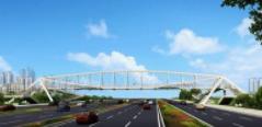26秒 聊城城区三处天桥正在紧张施工 预计十月底投入使用
