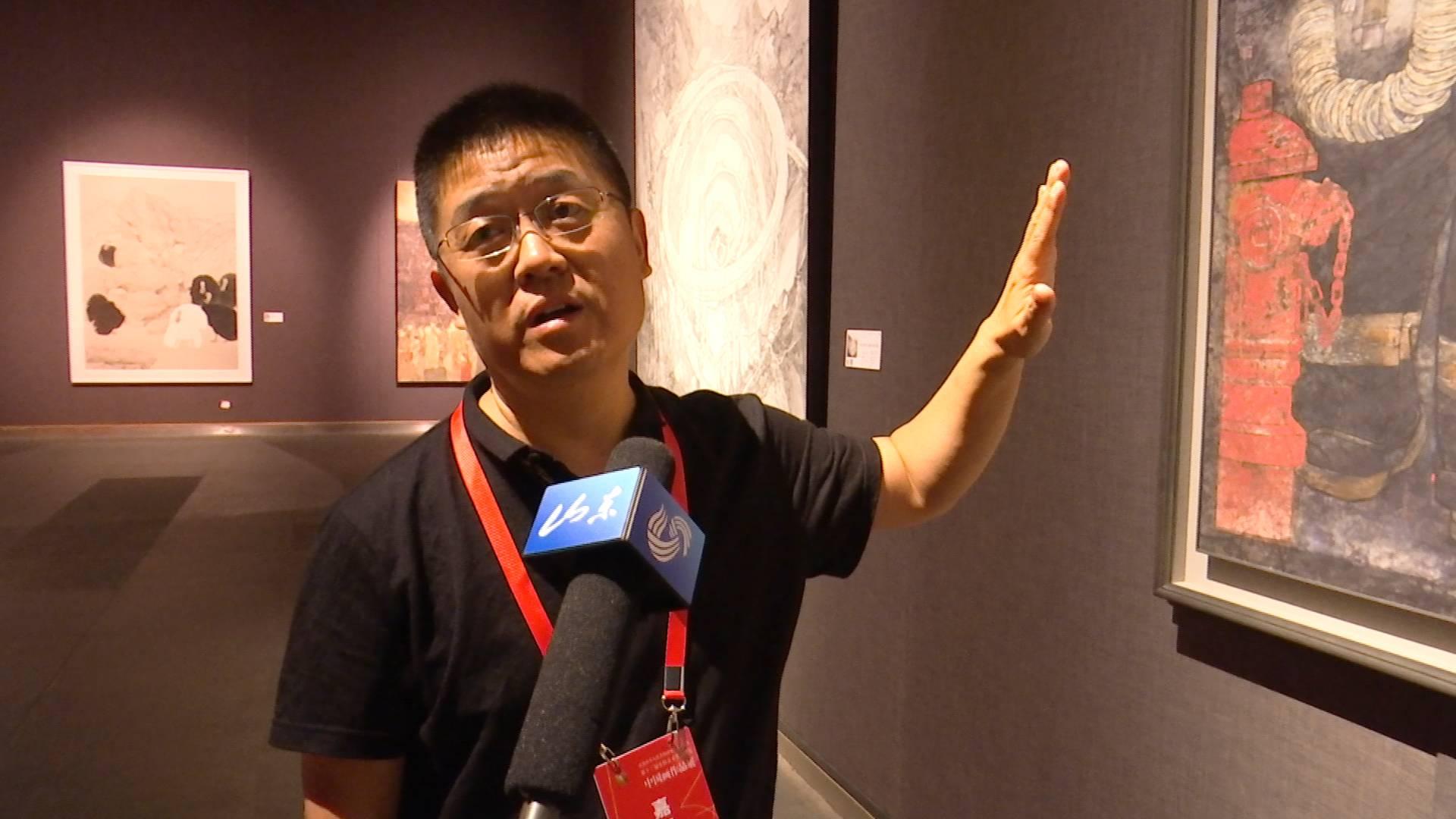 这幅画何以成为中国画获奖提名作品?李玉旺揭秘《使命》创作背后