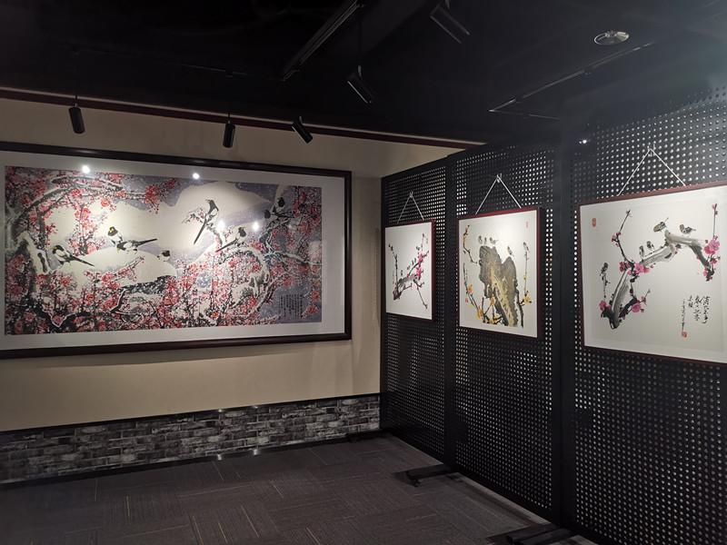 """38秒丨齐鲁书画研究院举办""""不忘初心、砥砺奋进""""书画展"""