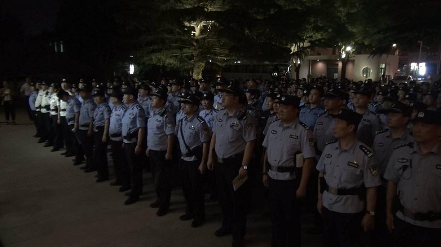 54秒!济南公安出动五百名警力夜查
