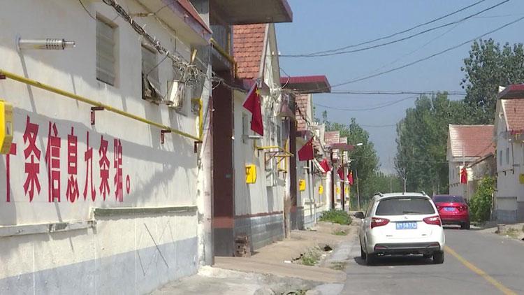 28秒 喜迎国庆 滨州博兴这个镇五星红旗挂满村