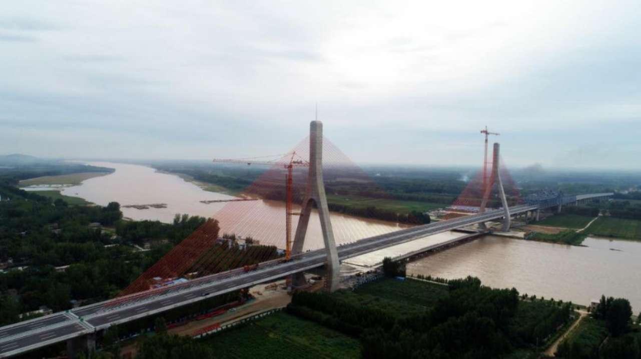 99.35分!泰东高速黄河特大桥顺利通过交工验收