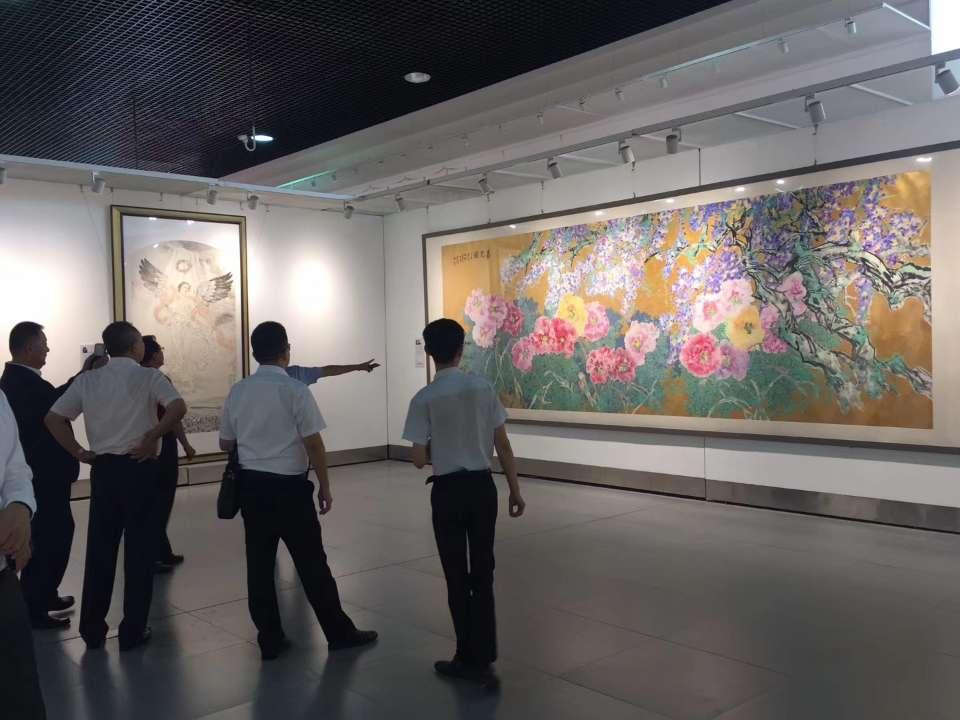 """""""翰墨飘香 书画传情""""翰墨青州·2019中国书画年会开幕"""
