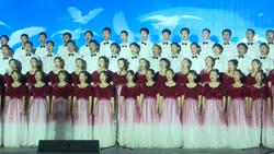 42秒|聊城市直机关庆祝新中国成立70周年合唱比赛举办