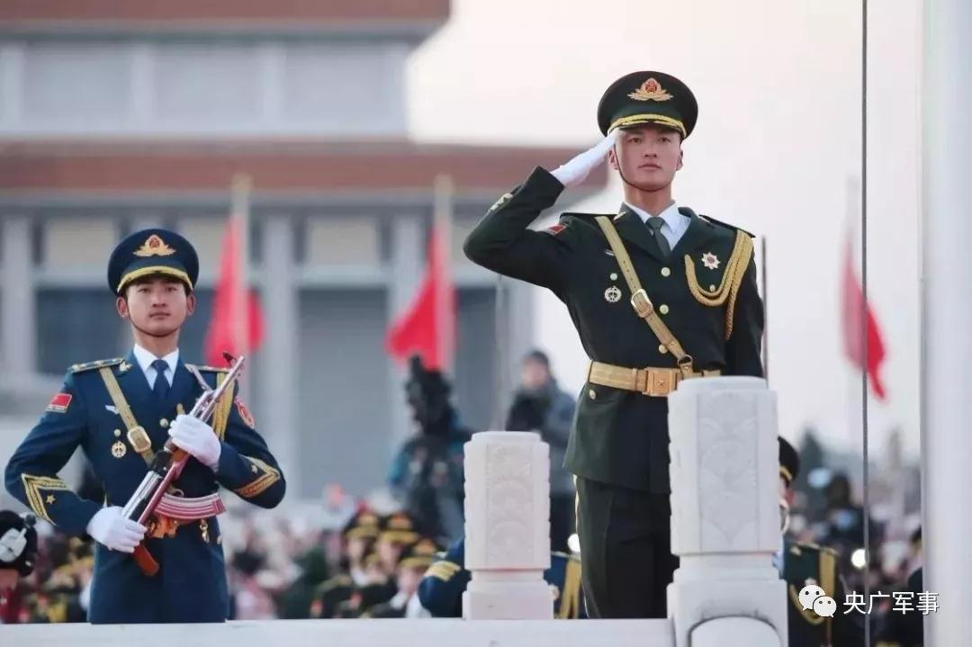 请祖国检阅!我是国庆阅兵仪仗方队擎旗手 来自山东曹县