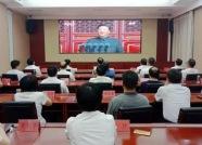 泰安岱岳区组织观看庆祝中华人民共和国成立70周年大会、阅兵和群众游行实况