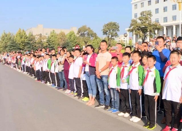 同升一面旗丨泰安岱岳区直机关举行升国旗仪式