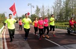 我与祖国共奋进!聊城这群运动达人70公里接力跑庆国庆
