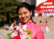 泰安籍女孩张瑞阳参加国庆盛典群众游行:热泪盈眶,永远感恩!