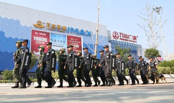 国庆假期滨州共投入巡防警力12960余人次 车辆3600余台次
