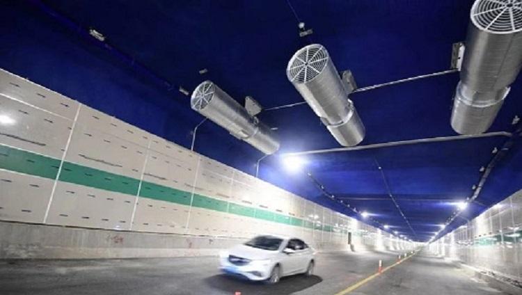 最新消息!济南白马山隧道今日限时通车 限高2.2米