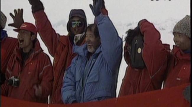 签订生死协议、把五星红旗带到北极点,他是中国北极科考第一人