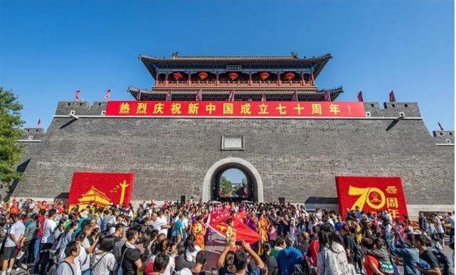 国庆期间青州古城游客量破76万人次 ,夜间经济占到35%