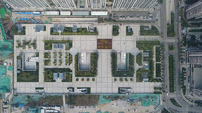 济南火车站北广场正式投入使用 VR+航拍带你瞰全景路线图