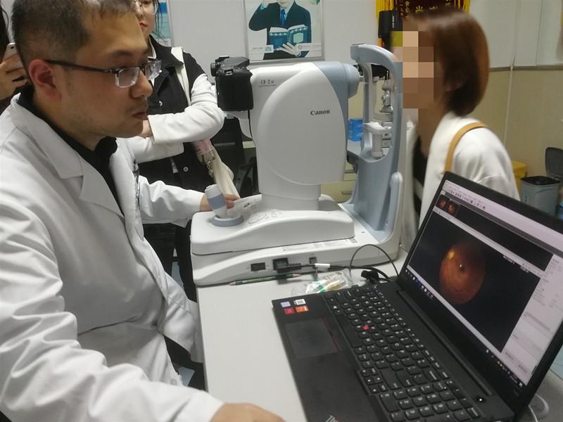 10秒出报告 准确率超90%!青岛物联网+AI为眼底疾病诊断提速